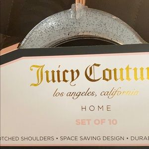 Juicy Couture Storage & Organization - 2 sets juicy couture hangers